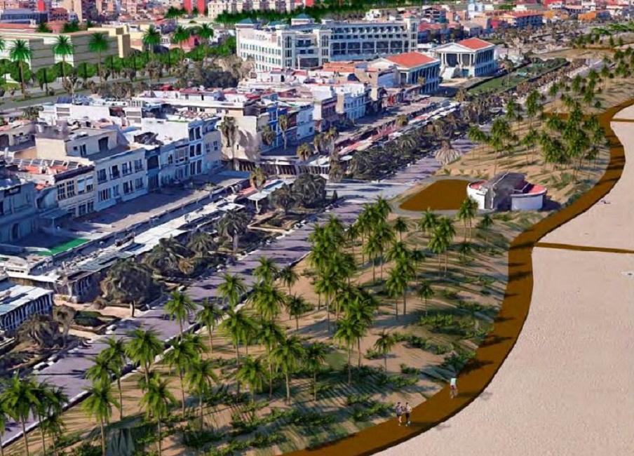 Nuevo paseo marítimo Valencia